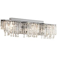 "Possini Euro Crystal Strand 25 3/4"" Wide Bath Light - #R6824 