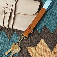 Cold Gold Womens Painted Sky Key Ring