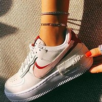 Nike Air Force 1 AF1 Fashionable Women Casual Flat Running Sport Shoes Sneakers