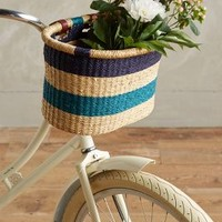 Ghanian Bicycle Basket by House of Talents