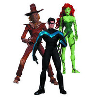 BATMAN HUSH: SCARECROW NIGHTWING POISON IVY ACTION FIGURE 3 PACK