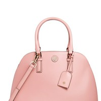 Women's Tory Burch 'Robinson' Leather Dome Satchel