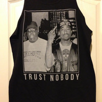 NEW Tupac Trust Nobody Tank and T-shirt