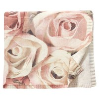 The Emily And Meritt Photo Floral Throw