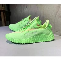 Adidas Yeezy Boost 25C Fashion Men Casual Breathable Sport Running Shoes Sneakers Green