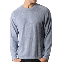 PREMIUM Mens Vintage Long Sleeve Crewneck Soft Knit Pullover Sweater (CLEARANCE)