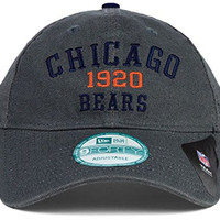 Chicago Bears NFL Canvas to Go 9Forty Adjustable Fit Hat Cap- One Size Fits All