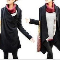 [not available]  2011 Korean Women personality Hitz cape coat wool coat by msichen3