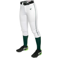 Easton Mako Piped Women's Fastpitch Pant - White Green