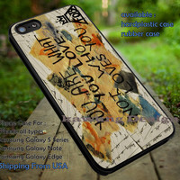 Fall Out Boy Quote You are What You Love iPhone 6s 6 6s+ 5c 5s Cases Samsung Galaxy s5 s6 Edge+ NOTE 5 4 3 #music #fob dt
