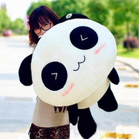 High quality bolster/ pillow Plush Toy Stuffed Animal Cute Panda Gift 70cm Gift