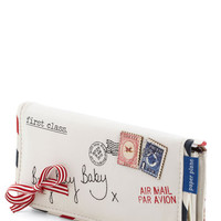 Disaster Designs Travel Keep You Posted Wallet