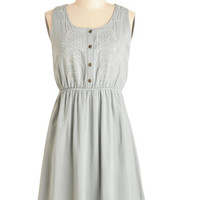 ModCloth Mid-length Tank top (2 thick straps) A-line Make It or Bake It Dress