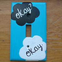 The Fault In Our Stars Light Switch Cover