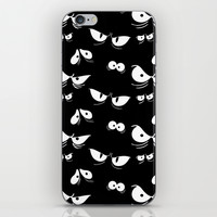 Spooky Eyes iPhone & iPod Skin by Page394