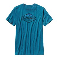 Patagonia Men's Fitz Roy Crest Cotton/Poly T-Shirt