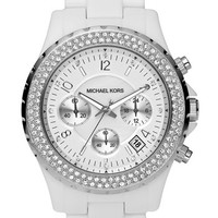 Michael Kors 'Madison' Twin Row Crystal Chronograph Watch | Nordstrom