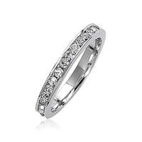 Bling Jewelry April Eternity Ring
