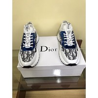 dior fashion men womens casual running sport shoes sneakers slipper sandals high heels shoes 235