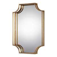 Lindee Gold Wall Mirror