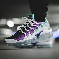 Nike Air Vapormax Plus Triple White Running Sneakers Sport Shoes-14