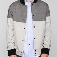 Charles & 1/2 Colorblock Baseball Jacket - Urban Outfitters