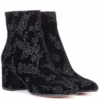 Exclusive to mytheresa.com– Margaux velvet ankle boots