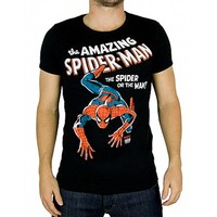 Marvel Comics mens T-shirt The Amazing Spiderman