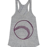 Cleat Chaser-Female Athletic Grey Tank