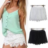 Lace shorts   Spoiled Rotton