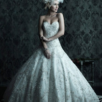 Allure Bridals Couture C225  Allure Couture Bridal Delaware Prom Gowns Prom Dresses Bridal Gowns Wedding Gowns Cocktail Dresses Ball Gowns
