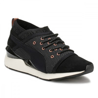 PUMA Womens Black Pearl Trainers