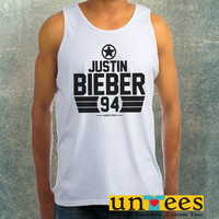 Justin Bieber Clothing Tank Top For Mens