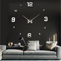 3D Acrylic wall stickers clock