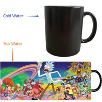 Rick and Morty Heat Revealing Mug