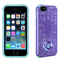Holiday CandyShell for iPhone 5s & iPhone 5 - Hip Hip Hooray Grape...