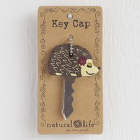 Hedgehog  Key  Cap  From  Natural  Life