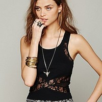 Free People  Criss Cross Crop Cami at Free People Clothing Boutique