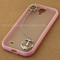 Anchor and rudder case, Samsung Galaxy S2 S3 S4 note 2 note 3 case, iphone 4 4s 5 5s 5c case