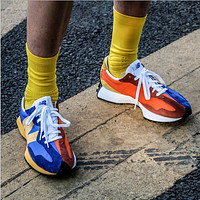 New Balance colorblock men's and women's sports and leisure running shoes