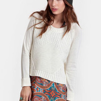 Good Intentions Cable Knit Sweater