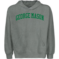 George Mason Patriots Youth University Arch Pullover Hoodie - Gunmetal - http://www.shareasale.com/m-pr.cfm?merchantID=7124&userID=1042934&productID=543384358 / George Mason Patriots