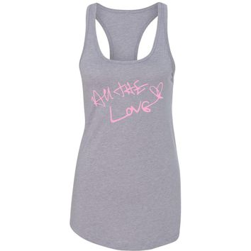 """Harry Styles """"All The Love Autograph"""" Racerback Tank Top"""