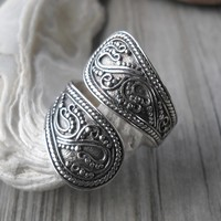 925 Sterling Silver Open Band Ring