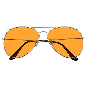 Sunglasses Mens Womens Color Tinted Lens Color Tone Retro Sunglasses