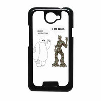 Hello I Baymax I Groot HTC One X Case