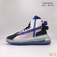 701 Nike Air Max 720 Satrn Hight Breathable Sneakers Knit Casual Fashion Basketball Shoes