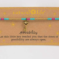 Natural Life Key Giving Bracelet