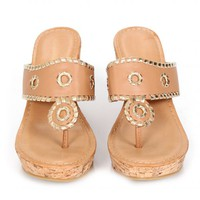 Step Into Style Tan Wedges   Monday Dress Boutique