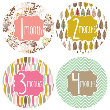 Little Fashionista Monthly Stickers
